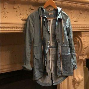 Tops - Women's denim shirt jacket